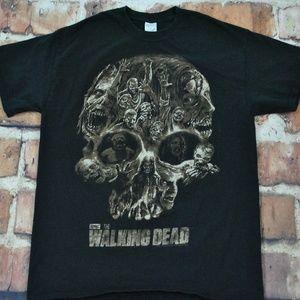 The Walking Dead Zombies Skullhead T-Shirt